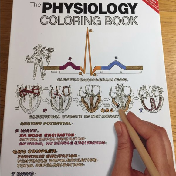 Other The Physiology Coloring Book 2nd Edition Poshmark
